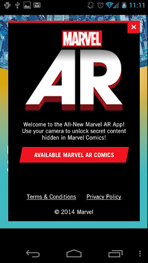 Marvel AR