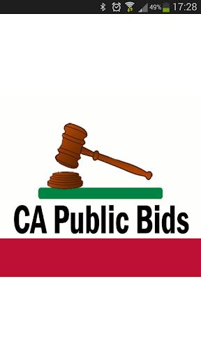 CA Public Bids