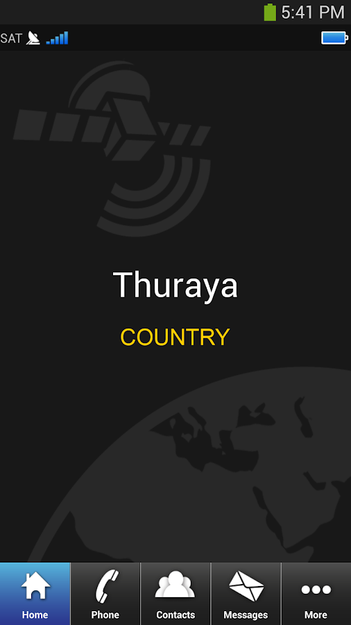 Thuraya SatSleeve- screenshot