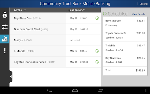 Community Trust Bank Mobile - screenshot thumbnail