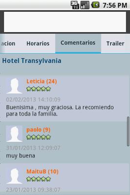 Cartelera - Montevideo Comm - screenshot