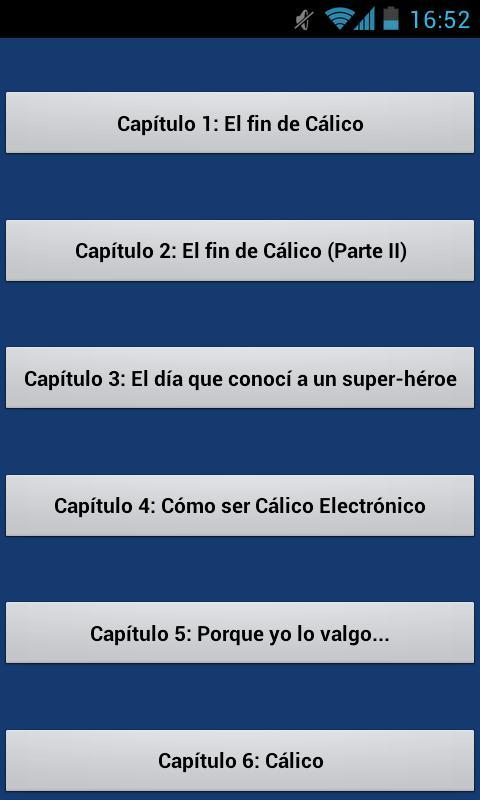 Cálico Electrónico - screenshot