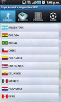 Screenshot of Copa América 2011