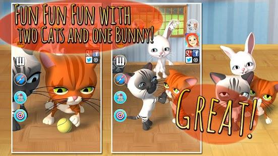 Talking 3 Friends Cats & Bunny - screenshot thumbnail