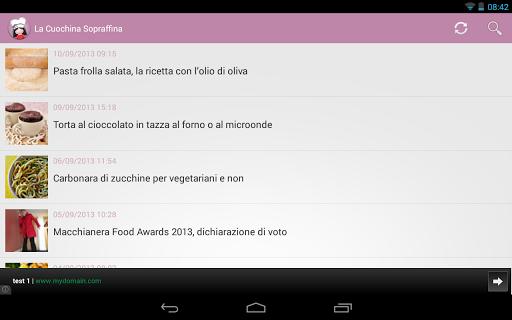 【免費生活App】La Cuochina Sopraffina ricette-APP點子