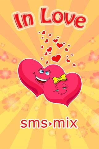 SMS Mix In Love - screenshot