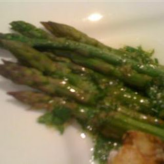 Asparagus with Lime and Ginger.