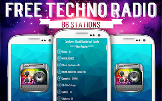 Screenshot of Free Techno Radio