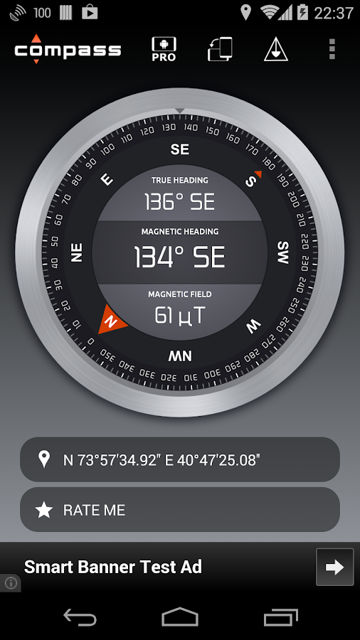Compass - screenshot