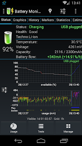 Battery Monitor Widget v3.15