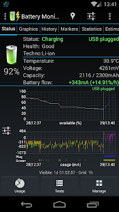 3C Battery Monitor Widget – Vignette de la capture d'écran