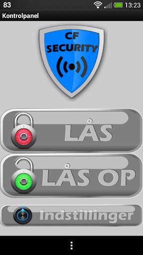 CF-Security Alarm