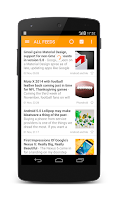 Screenshot of Lite RSS