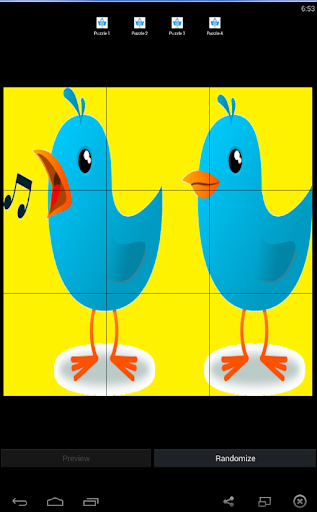 Bird Puzzle Games