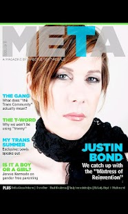 Meta Magazine - screenshot thumbnail