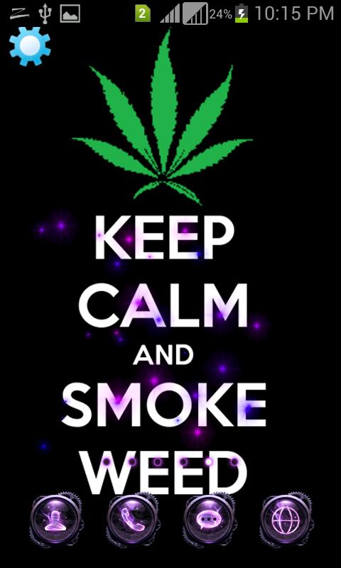 ... Weed Marijuana Live Wallpaper poster ...