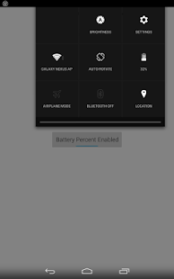 Nexus Battery Percent Enabler - screenshot thumbnail