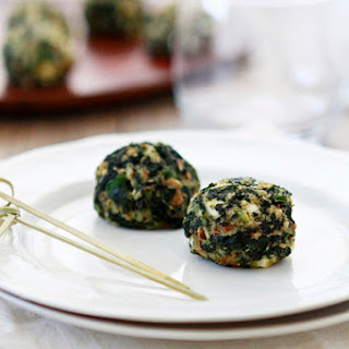Spinach Feta Stuffing Balls