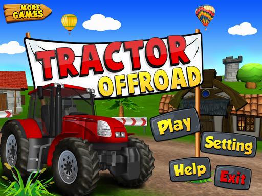 3d的越野拖拉機遊戲