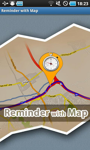 Reminder with Map