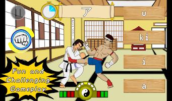 Screenshot of Kana Karate - Language Master