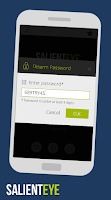 Screenshot of SalientEye Home Security Alarm