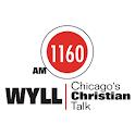 AM 1160 WYLL logo
