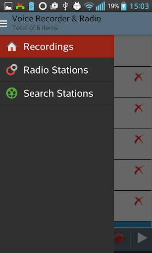 Voice Recorder Radio