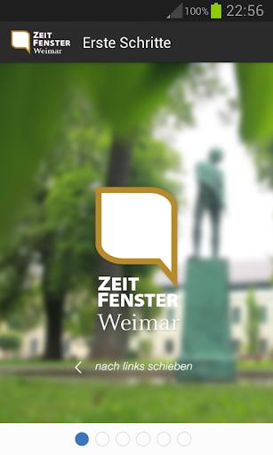 Zeitfenster Weimar