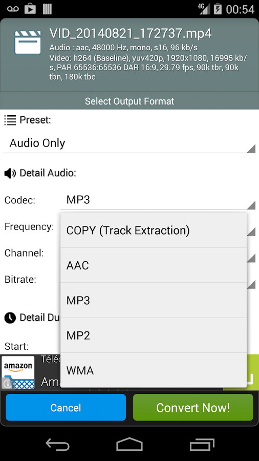 Fast Video to MP3 Converter- screenshot