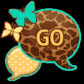 GO SMS THEME/TealGiraffe2
