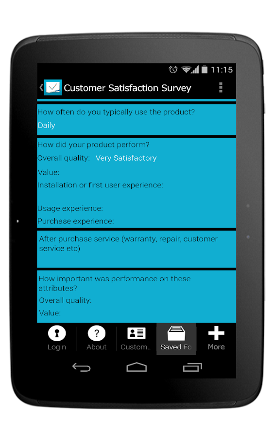 My Survey App