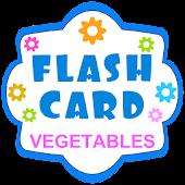 English Flash Cards-Vegetables