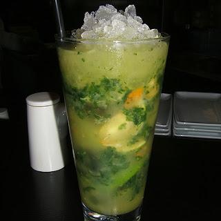 Kumquat Mojito Cocktail
