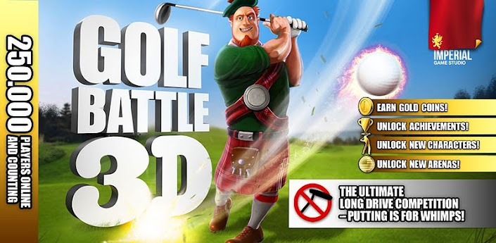 Golf Battle 3D.