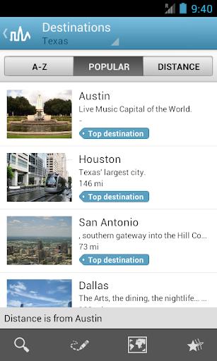 Texas Travel Guide by Triposo  screenshots 1