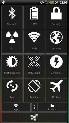 Hive Settings manage settings