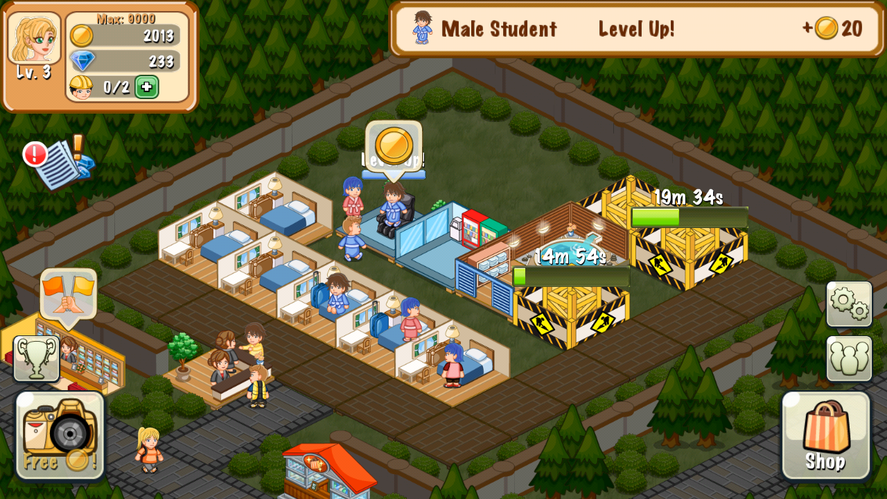 Hotel story resort simulation android apps on google play Create your house game