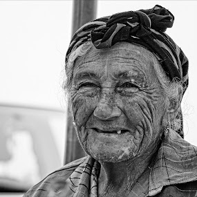 Weathered by Jack Noble - Black & White Street & Candid ( jack nobre, 2014, black and white, toronto, street, pixoto, summer, nazare, travel, portugal, photography, portrait )