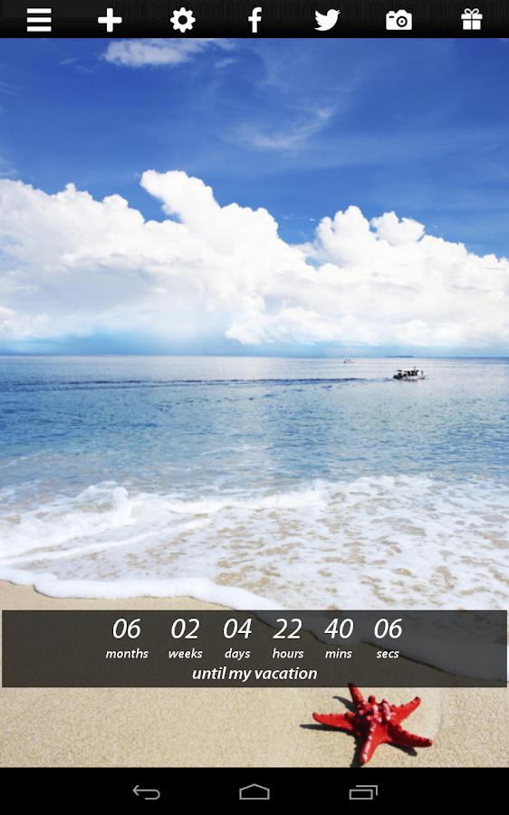 Popolare Countdown Widget - App Android su Google Play TM41