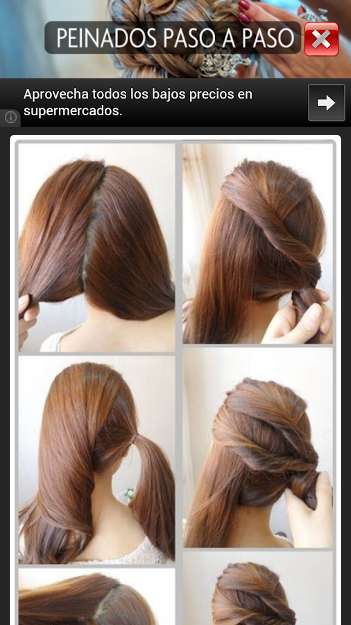 Step By Step Hairstyles Android Apps On Google Play - Juda hairstyle for short hair