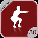 30 Day Extreme Squat Challenge icon