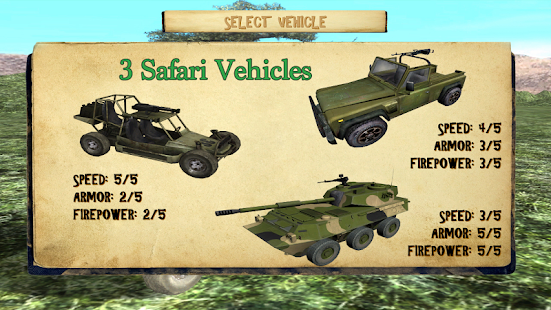 4x4 Safari Race : Poacher Hunt - screenshot thumbnail