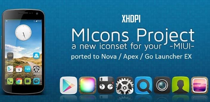 MIcons HD (Nova Apex Go Theme)