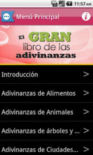 El Libro de las Adivinanzas - screenshot thumbnail