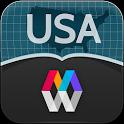 MyCityWay USA icon