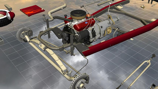 Car Disassembly 3D image   4