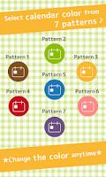 Screenshot of DietCalendar Free(weight)