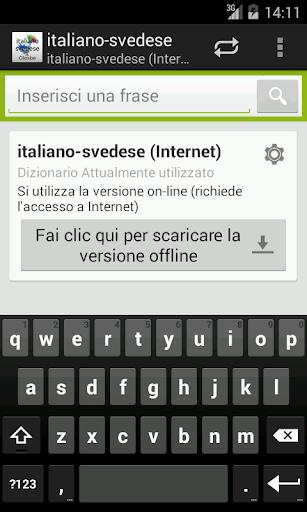 Italiano-Svedese Dizionario