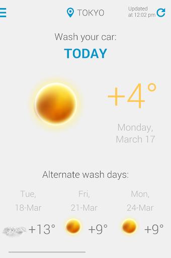 Car Wash Weather